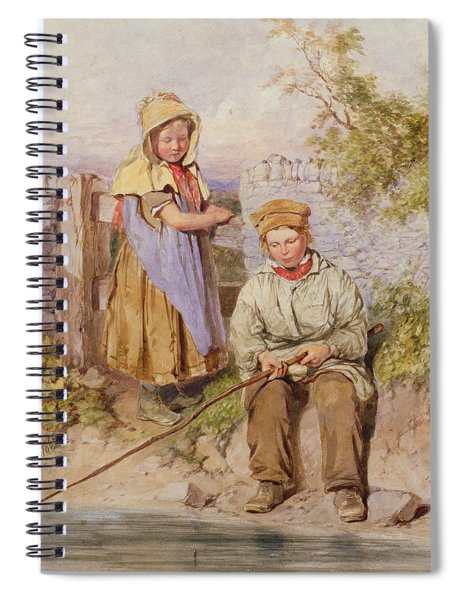 The Young Anglers Spiral Notebook