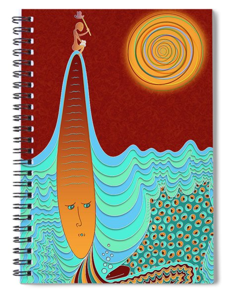 The Young Man And The Sea Spiral Notebook