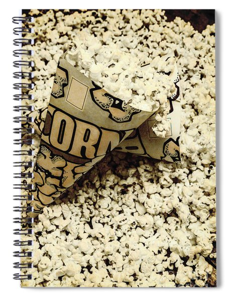 Theatre Of Nostalgia Spiral Notebook