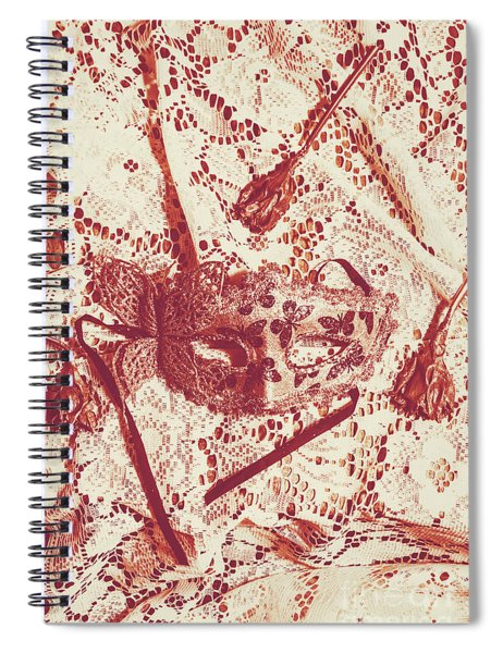 Theatrical Drama Spiral Notebook