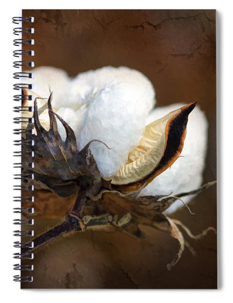 Them Cotton Bolls Spiral Notebook