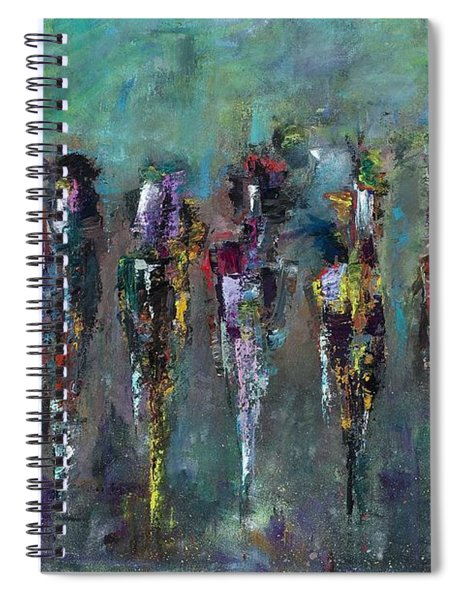 Then Came Seven Horses Spiral Notebook
