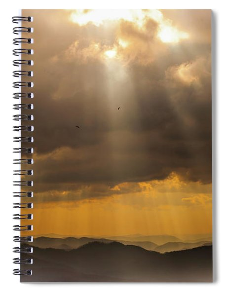 Then Sings My Soul Spiral Notebook