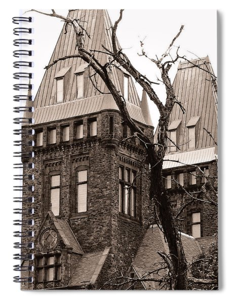 Then The Dream Wakes Me Spiral Notebook