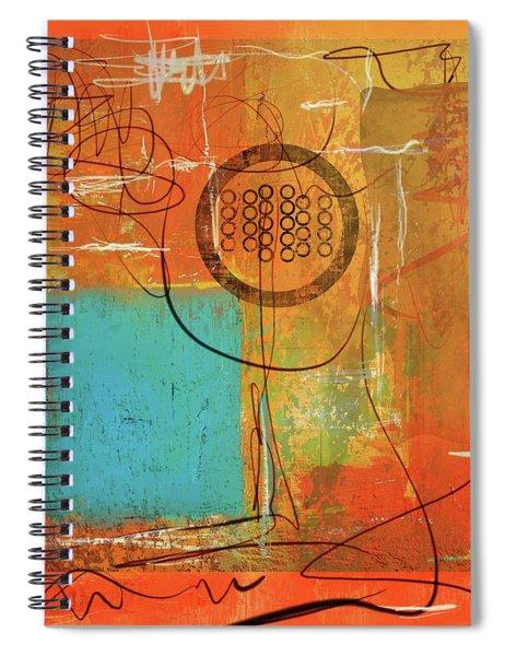 Theory Of Orange Spiral Notebook