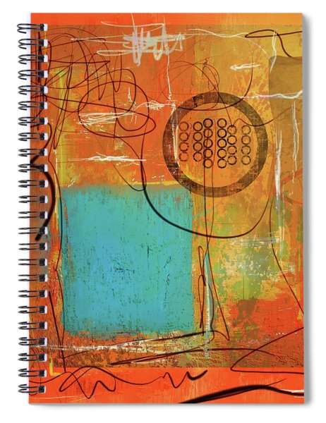 Theory Of Orange Spiral Notebook