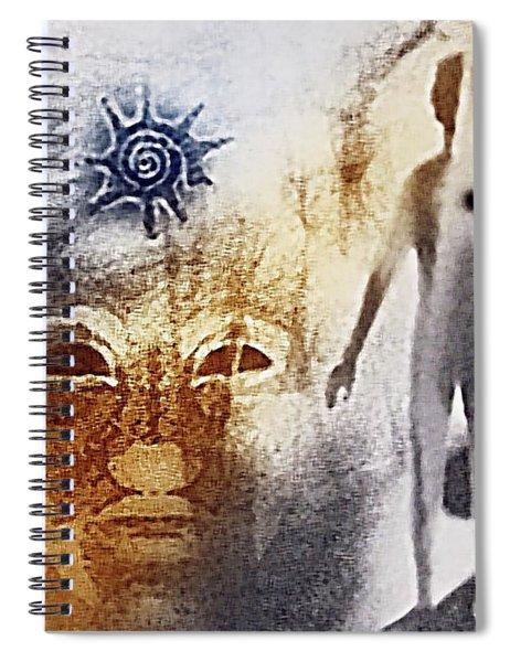Thera Of Atlantis Spiral Notebook