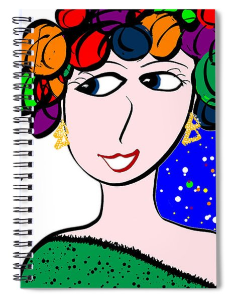 There Is A Lot Of Happy   Share Spiral Notebook