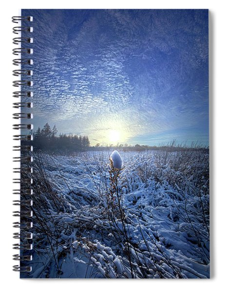 Therefore We Do Not Lose Heart Spiral Notebook