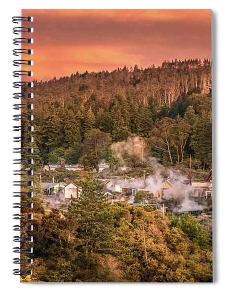 Thermal Village Rotorua Spiral Notebook