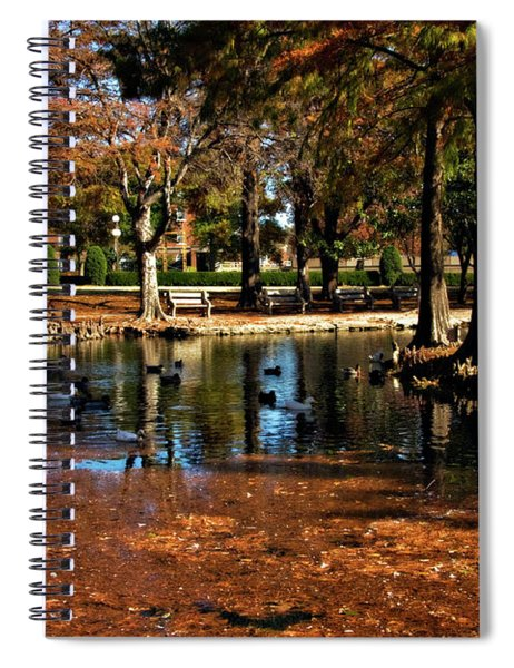 Theta Waterfowl Spiral Notebook