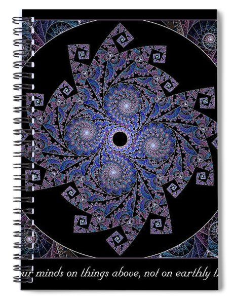 Things Above  Spiral Notebook