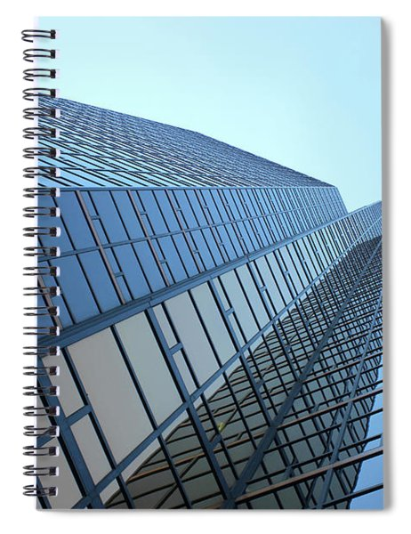 Things Are Looking Up Southfield Michigan Town Center Building Perspective Spiral Notebook