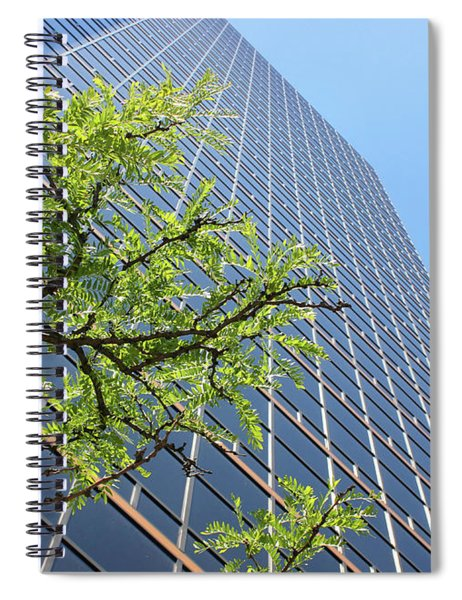 Things Are Looking Up Version 2 Southfield Michigan Town Center Building Perspective Spiral Notebook