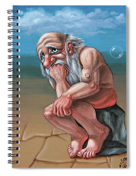 Thinker Spiral Notebook