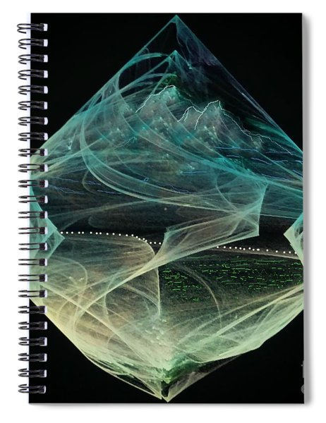 Thinning Of The Veil Spiral Notebook