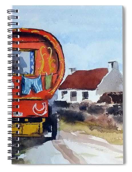 F 808  Whats Your Hurry  Spiral Notebook