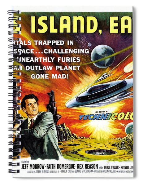 This Island Earth Science Fiction Classic Movie Spiral Notebook