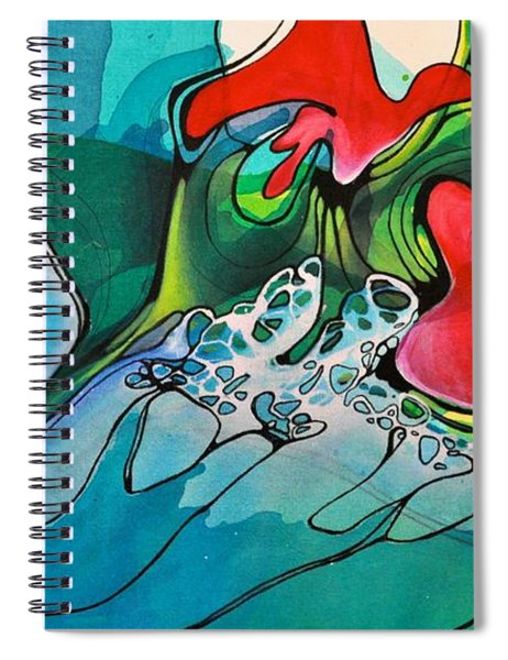 This Voided Electricity Spiral Notebook