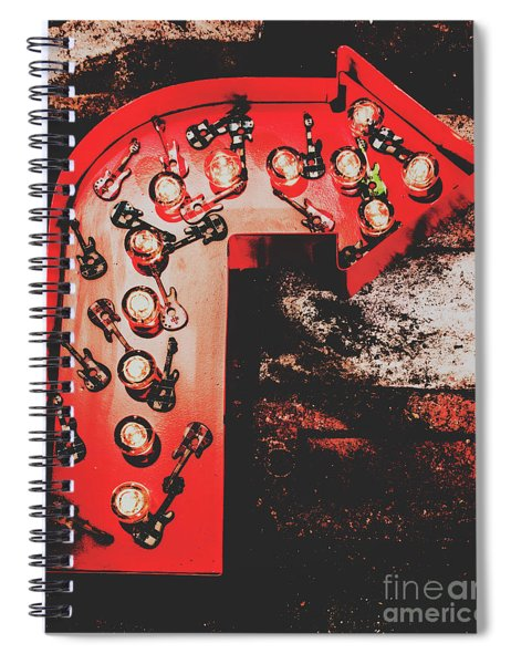 This Way To Rock City Spiral Notebook