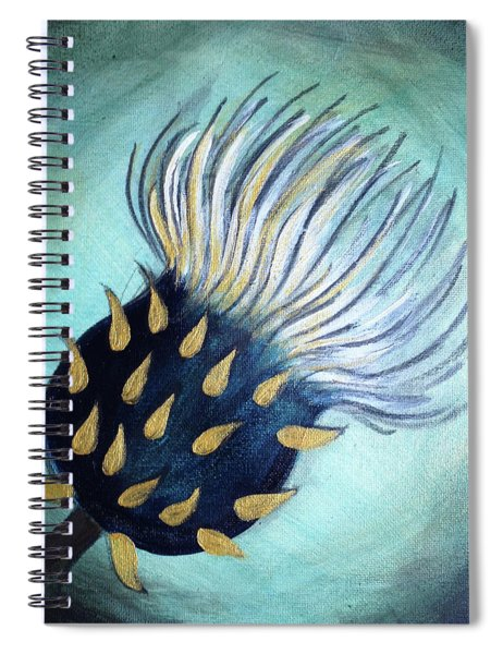 Thistle Dreams Spiral Notebook