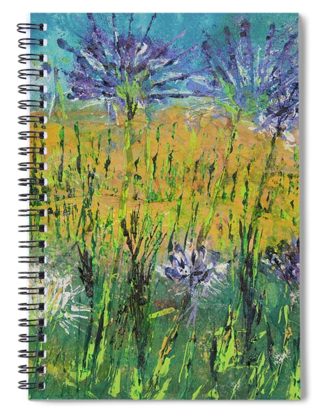 Thistles Too Spiral Notebook