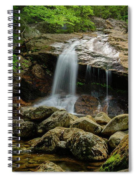 Thompson Waterfall, New Hampshire Spiral Notebook