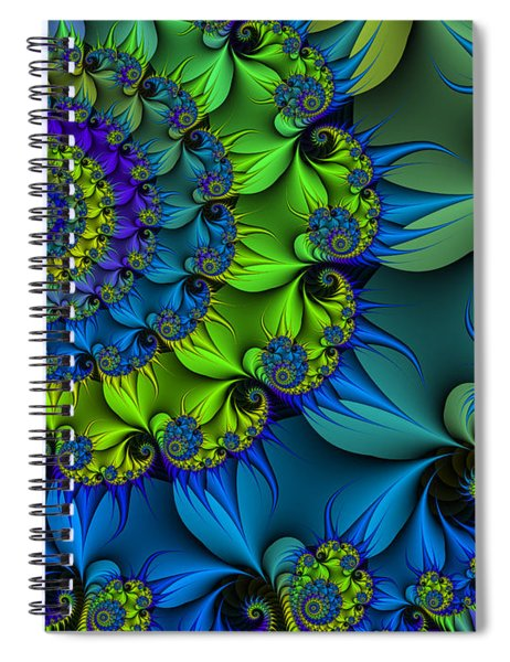 Thorn Flower Spiral Notebook