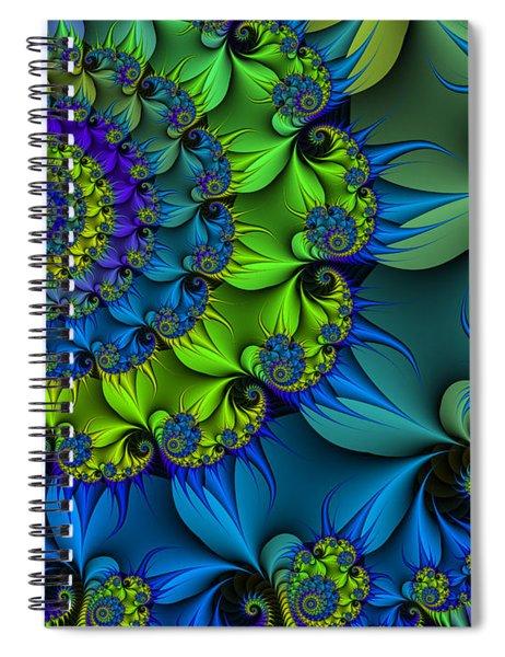 Thorn Flower Spiral Notebook