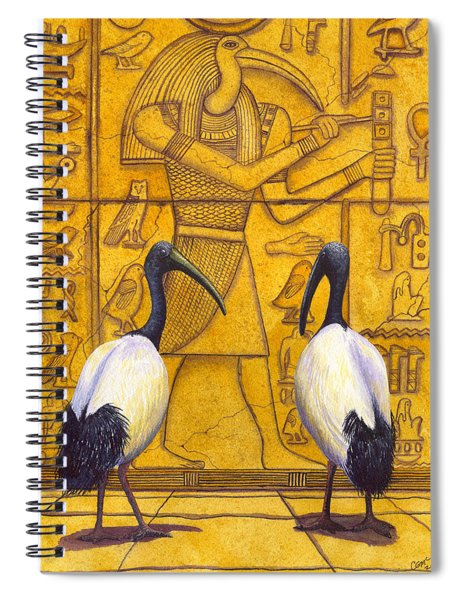 Thoth Spiral Notebook