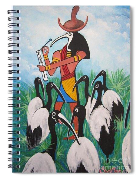 Blaa Kattproduksjoner         Thoth - What's With The Sombrero Spiral Notebook