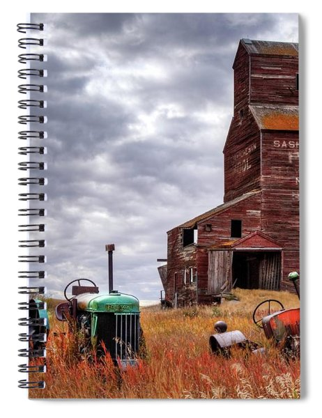 Three Abandoned Souls Spiral Notebook