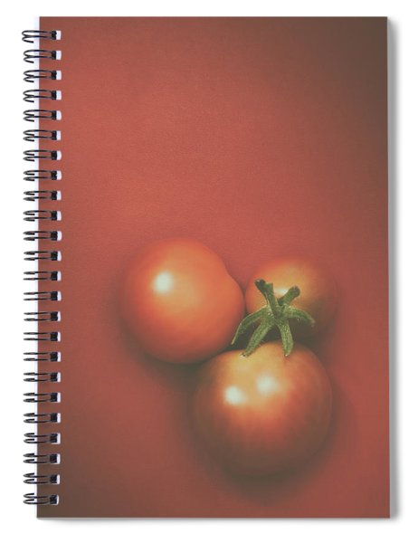 Three Cherry Tomatoes Spiral Notebook