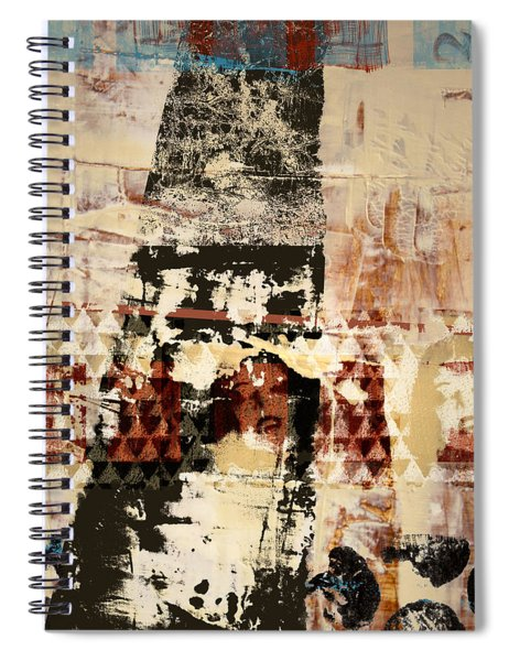 Three Faces Spiral Notebook