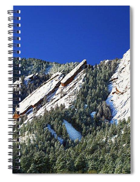 Three Flatirons Spiral Notebook
