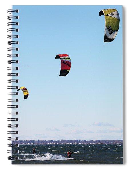 Three Kites Spiral Notebook