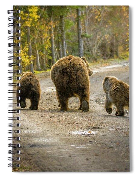 Bear Bums Spiral Notebook