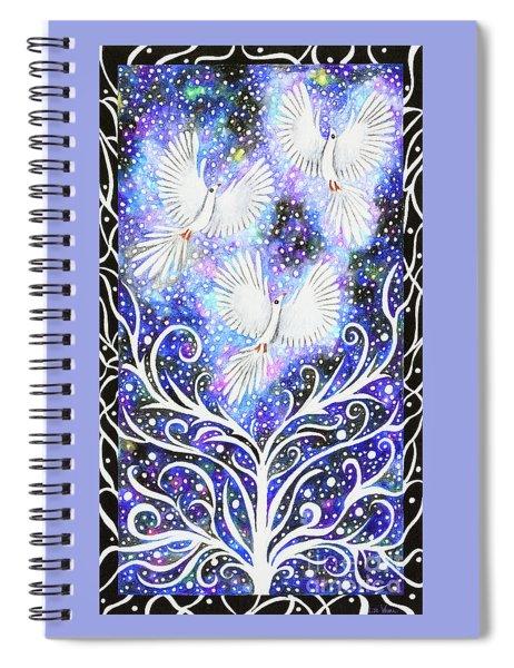 Three Messengers Spiral Notebook