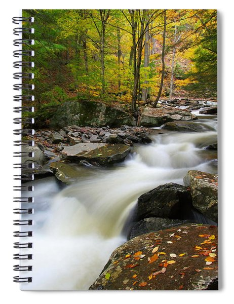Three Seconds In Fall Spiral Notebook