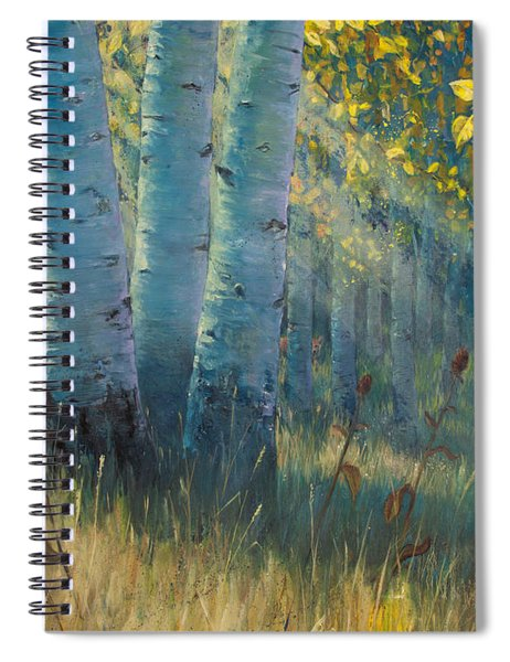 Three Sisters - Spirit Of The Forest Spiral Notebook