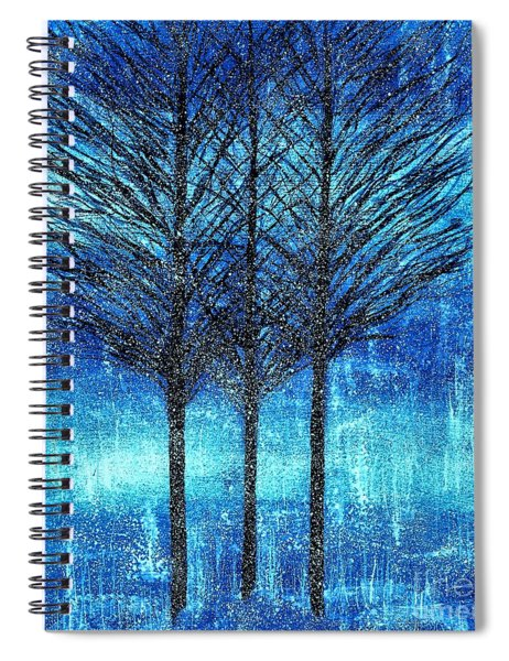 Three Trees  Spiral Notebook