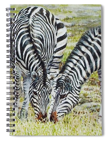 Three's Company Spiral Notebook