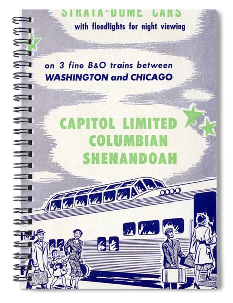 Thrilling Strata-dome Cars Spiral Notebook
