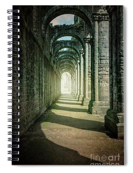 Through The Colonnade Spiral Notebook