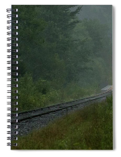 Through The Fog Spiral Notebook