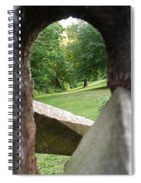 Through The Post Spiral Notebook