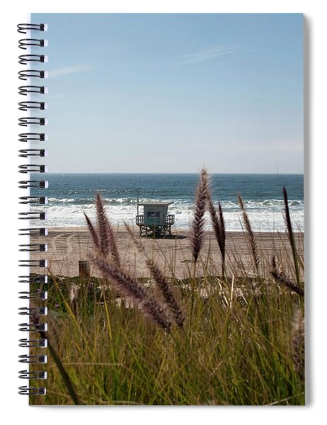 Spiral Notebook featuring the photograph Through The Reeds by Lorraine Devon Wilke