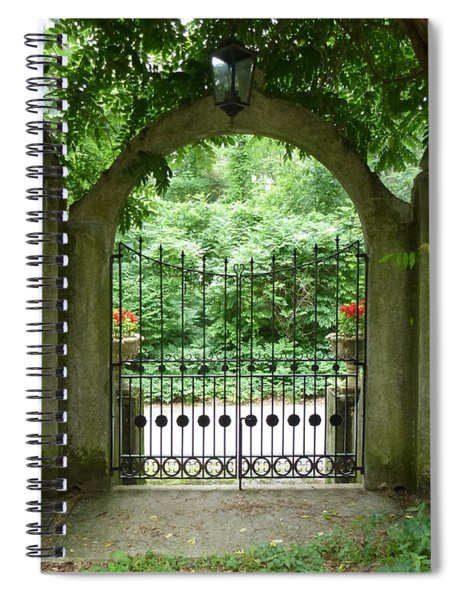 Through The Tuscan Gate Spiral Notebook