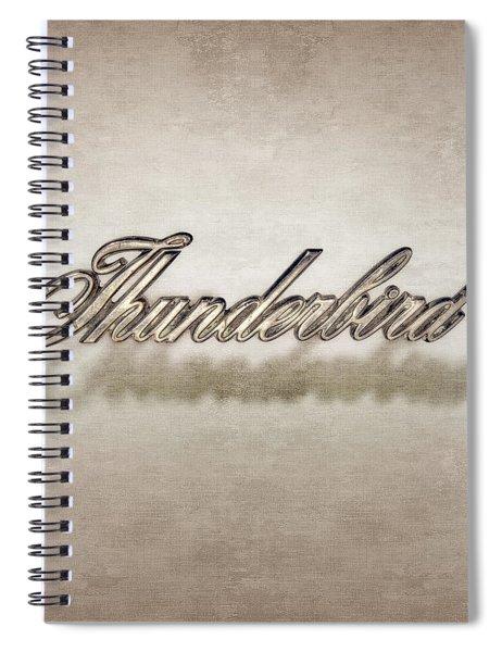 Thunderbird Badge Spiral Notebook