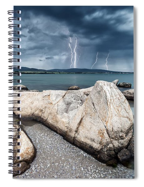 Thunderstorm  Spiral Notebook